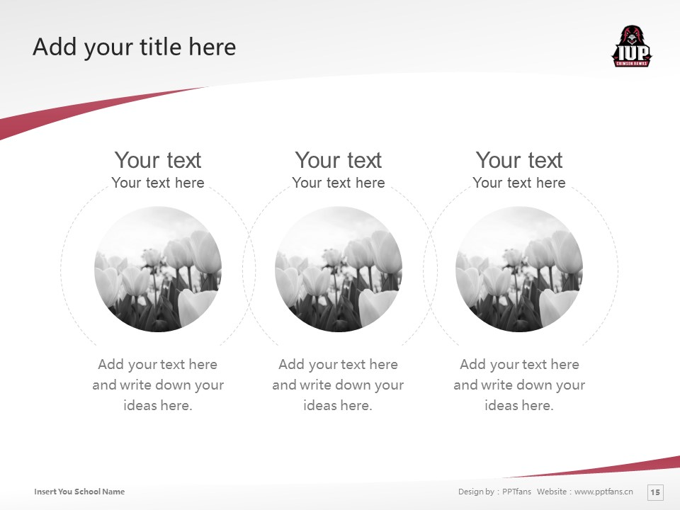 Indiana University of Pennsylvania Powerpoint Template Download | 宾州印第安那大学PPT模板下载_幻灯片15