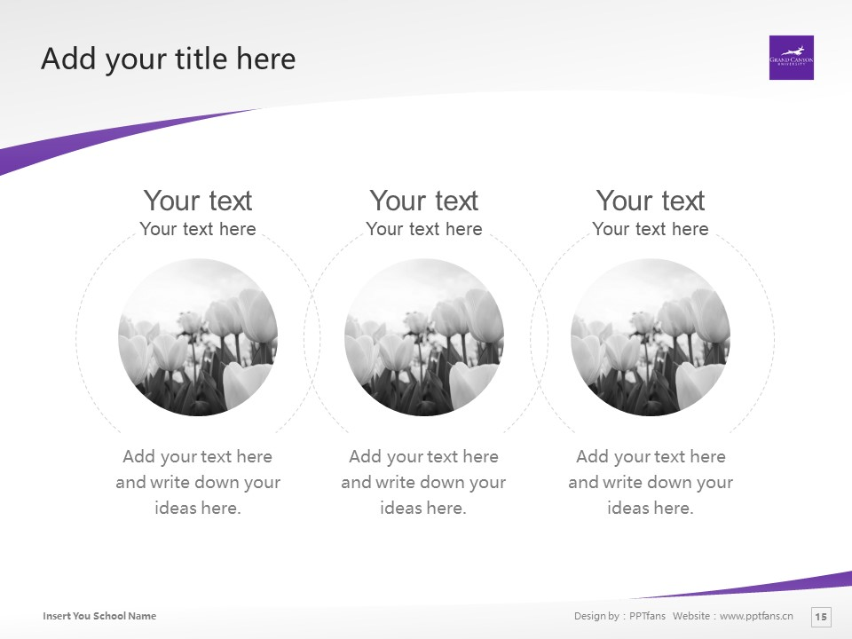 Grand Canyon University Powerpoint Template Download | 大峡谷大学PPT模板下载_slide15