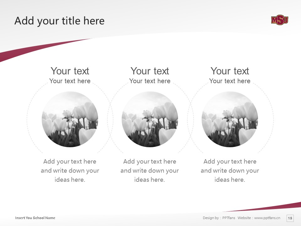 Midwestern State University Powerpoint Template Download | 中西州立大学PPT模板下载_幻灯片15