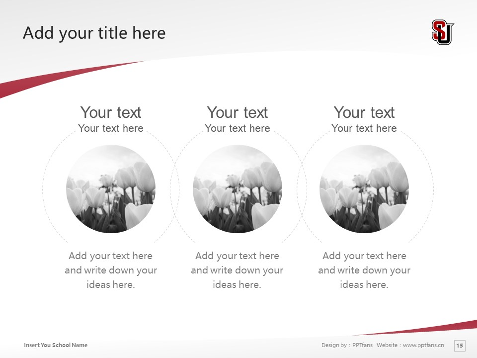 Seattle University Powerpoint Template Download | 西雅图大学PPT模板下载_slide15