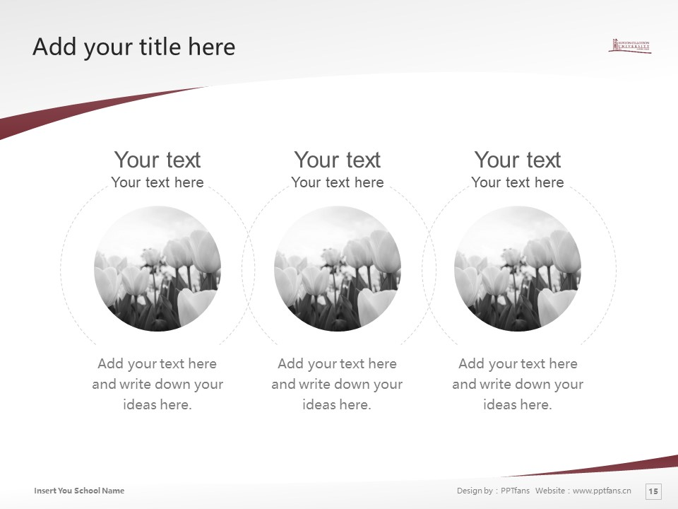 Huston-Tillotson College Powerpoint Template Download | 休斯顿蒂罗森学院PPT模板下载_slide15