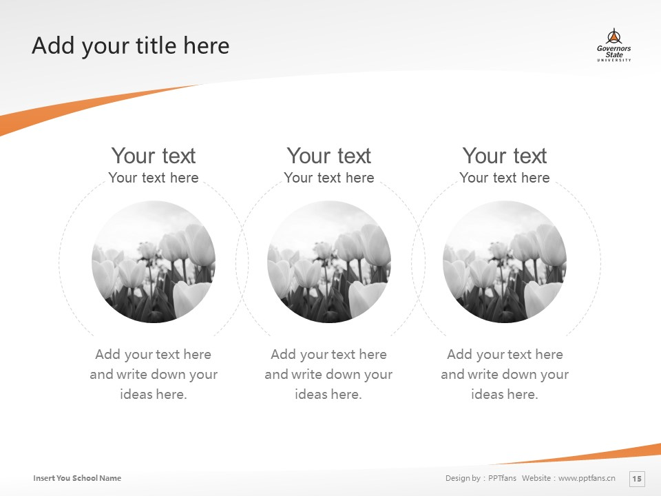 Governors State University Powerpoint Template Download | 州长州立大学PPT模板下载_slide15