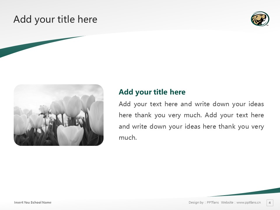 Bemidji State University Powerpoint Template Download | 明尼苏达州伯米吉州立大学PPT模板下载_slide4