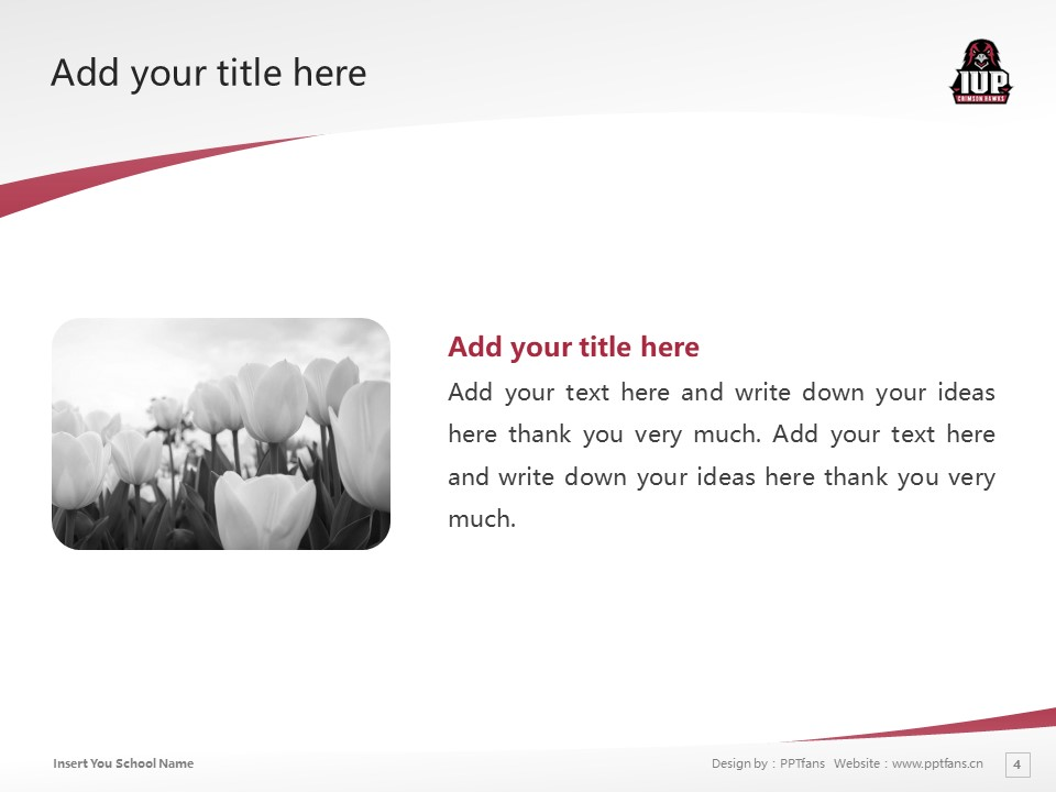 Indiana University of Pennsylvania Powerpoint Template Download | 宾州印第安那大学PPT模板下载_幻灯片4