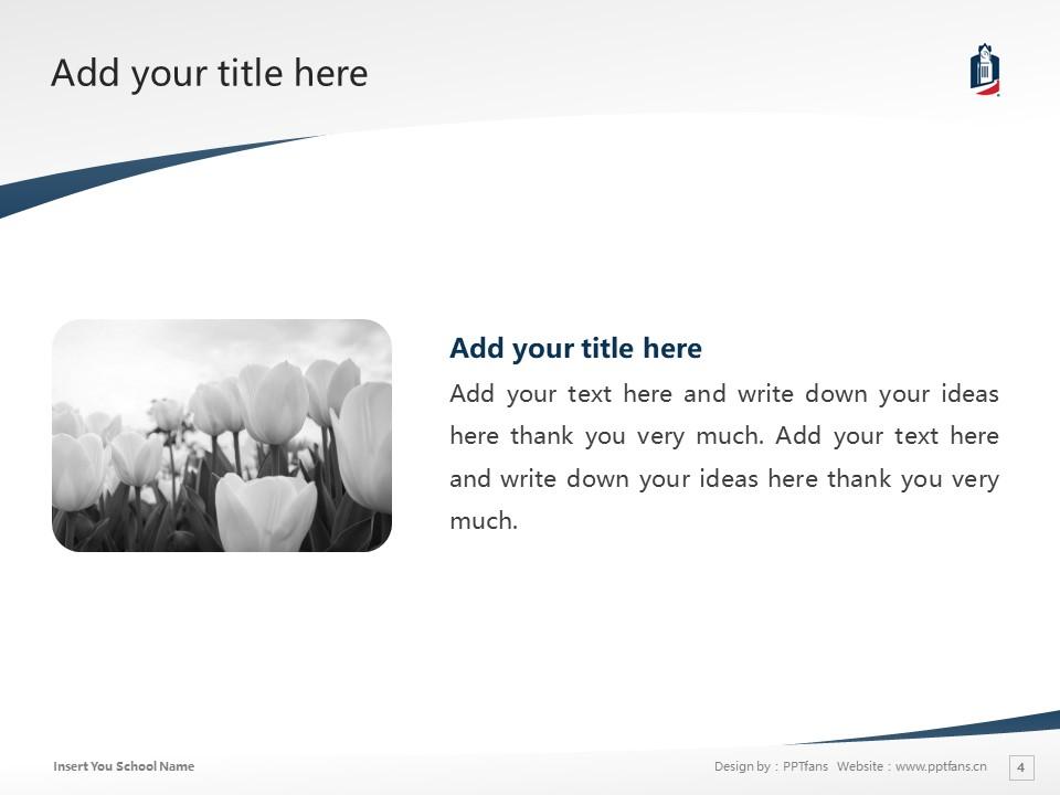 Columbus State University Powerpoint Template Download | 哥伦布州立大学PPT模板下载_幻灯片4