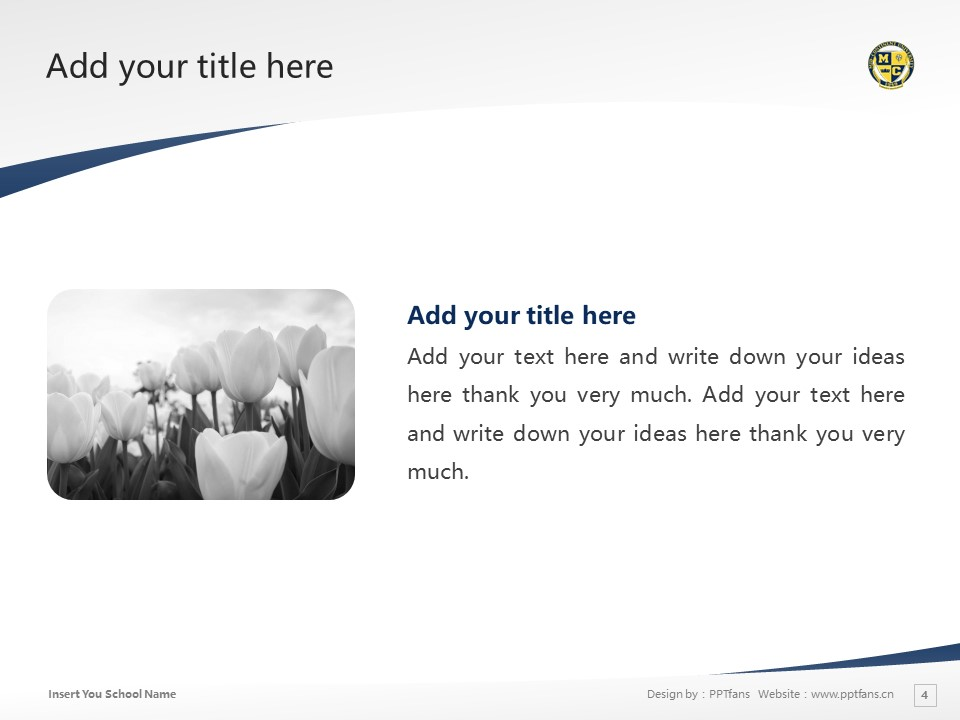 Mid-Continent College Powerpoint Template Download | 中陆学院PPT模板下载_slide4