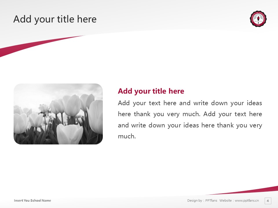 University of Indianapolis Powerpoint Template Download | 印第安纳波利斯大学PPT模板下载_slide4