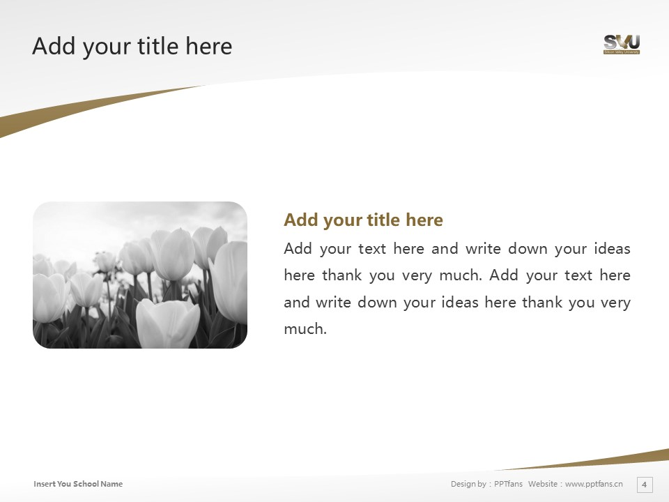 Silicon Valley University Powerpoint Template Download | 硅谷大学PPT模板下载_slide4
