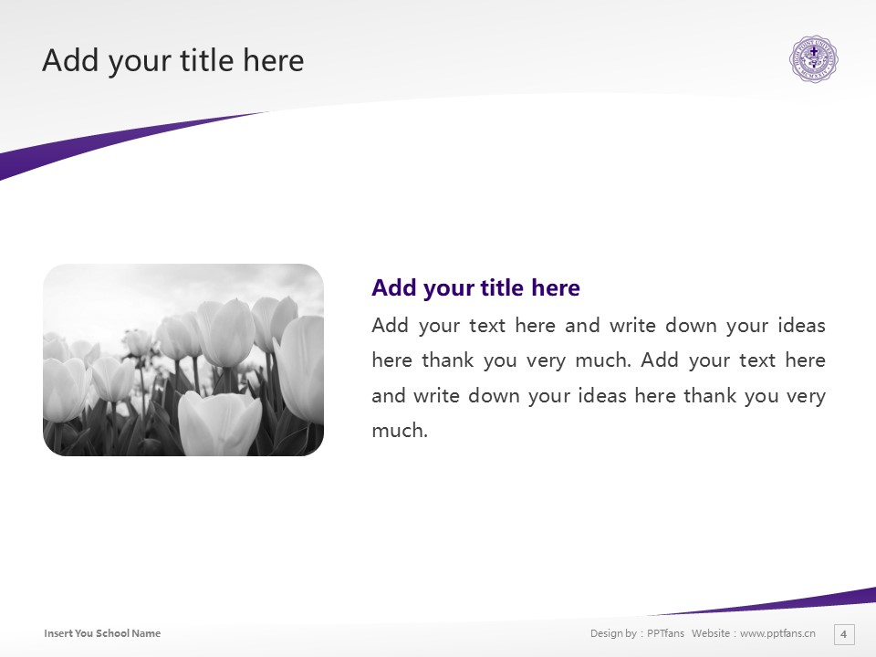 High Point University Powerpoint Template Download | 高点大学PPT模板下载_slide4