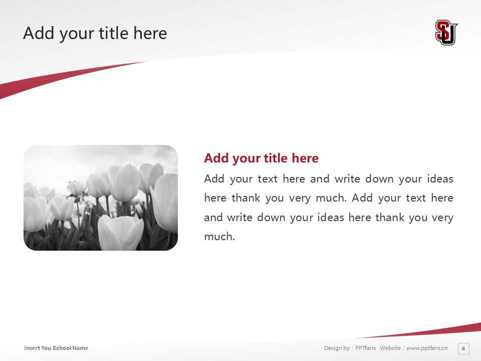Seattle University Powerpoint Template Download | 西雅图大学PPT模板下载_幻灯片4