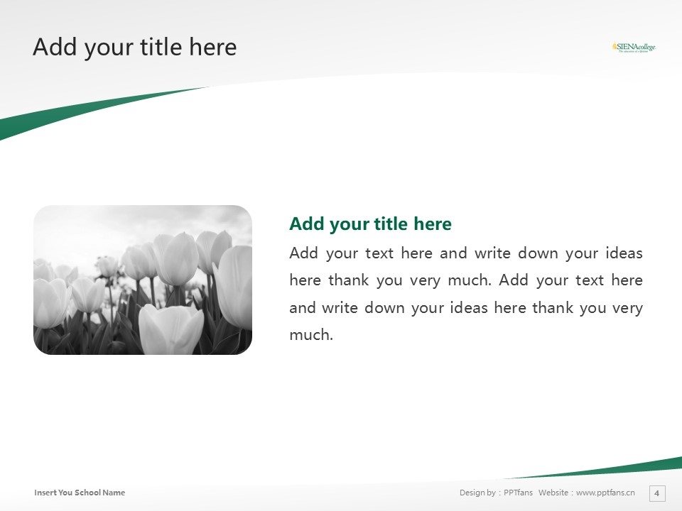 Siena College Powerpoint Template Download | 锡耶纳学院PPT模板下载_幻灯片4