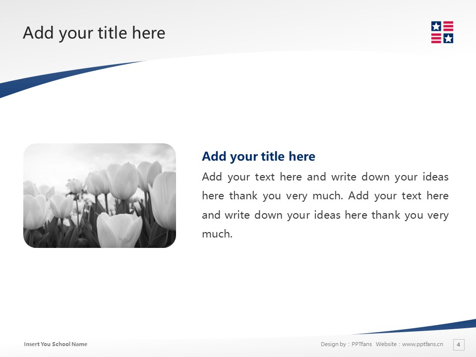 New England College Powerpoint Template Download | 新英格兰学院PPT模板下载_slide4