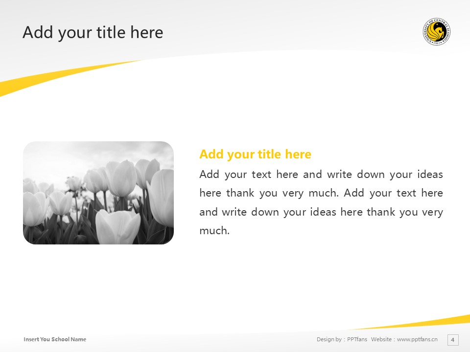 University of Central Florida Powerpoint Template Download | 中佛罗里达大学PPT模板下载_幻灯片4