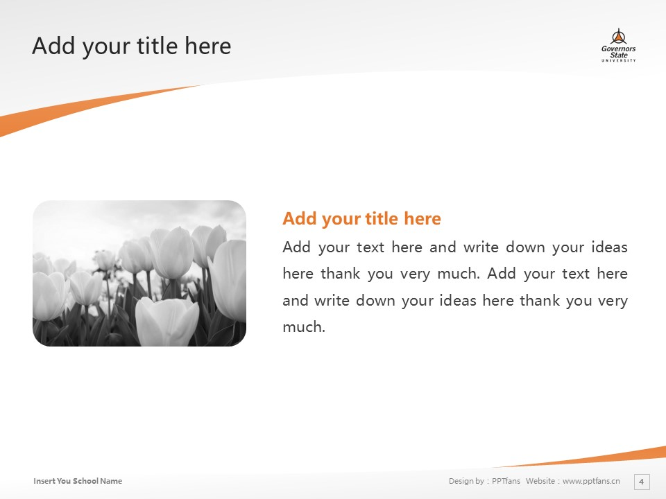 Governors State University Powerpoint Template Download | 州长州立大学PPT模板下载_slide4
