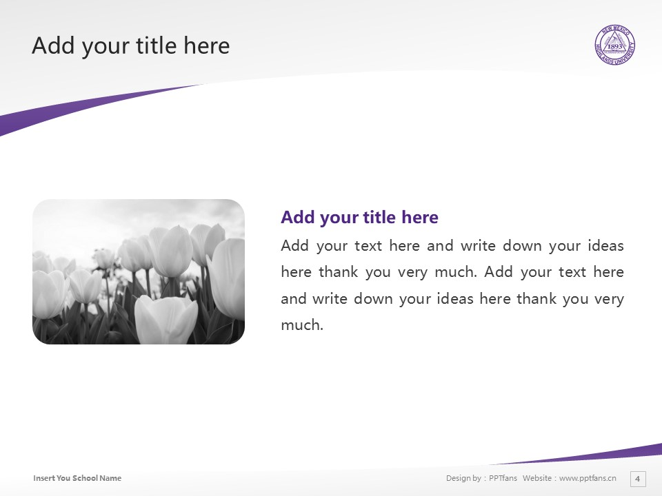 New Mexico Highlands University Powerpoint Template Download | 新墨西哥高地大学PPT模板下载_幻灯片预览图4