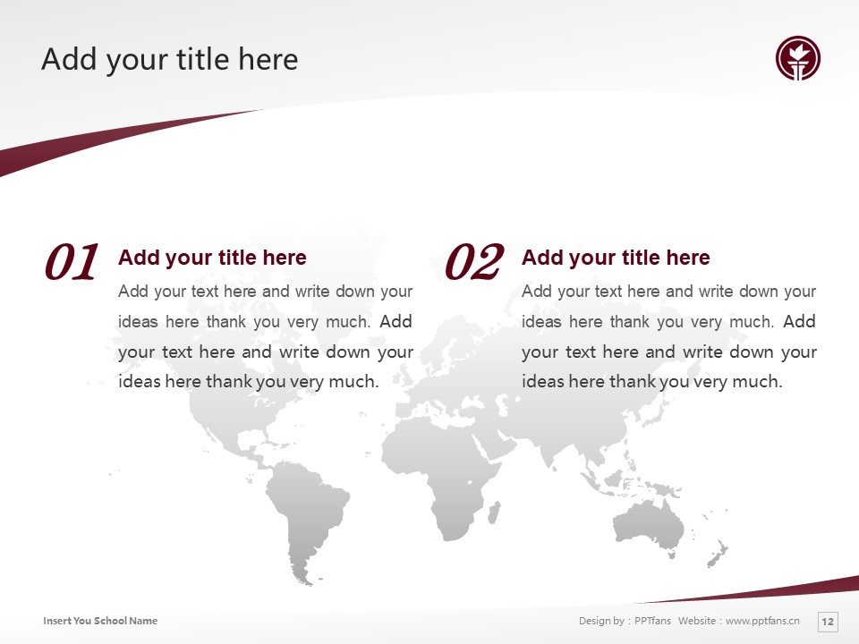 Seattle Pacific University Powerpoint Template Download | 西雅图太平洋大学PPT模板下载_slide12
