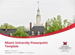 Miami University Powerpoint Template Download | 迈阿密大学PPT模板下载