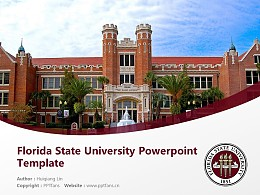 Florida State University Powerpoint Template Download | 佛罗里达州立大学PPT模板下载