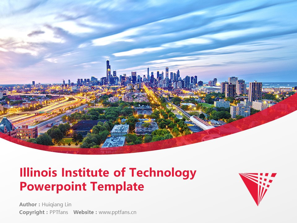 Illinois Institute of Technology Powerpoint Template Download | 伊利诺斯理工学院PPT模板下载_slide1