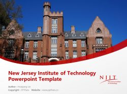 New Jersey Institute of Technology Powerpoint Template Download | 新泽西理工学院PPT模板下载