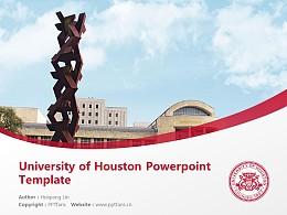 University of Houston Powerpoint Template Download   休斯顿大学PPT模板下载