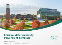 Chicago State University Powerpoint Template Download | 芝加哥州立大学PPT模板下载