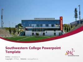 Southwestern College Powerpoint Template Download | 西南学院PPT模板下载