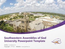 Southwestern Assemblies of God University Powerpoint Template Download | 西南上帝会大学PPT模板下载