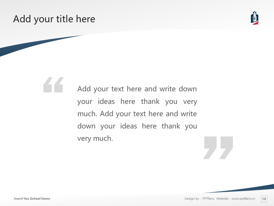 Columbus State University Powerpoint Template Download | 哥伦布州立大学PPT模板下载_slide13