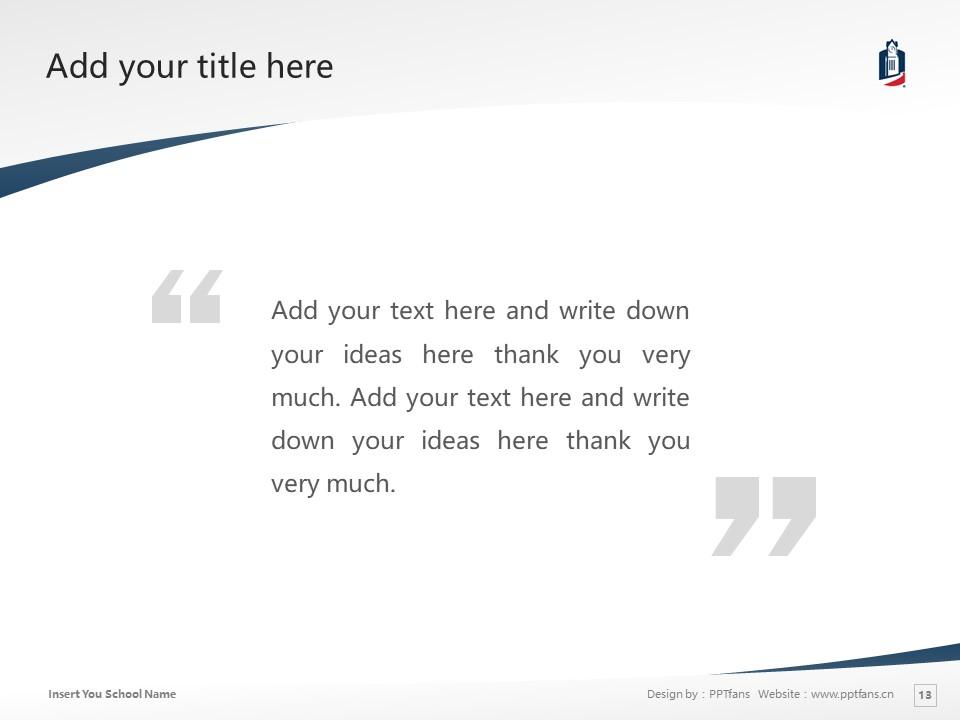 Columbus State University Powerpoint Template Download | 哥伦布州立大学PPT模板下载_幻灯片13