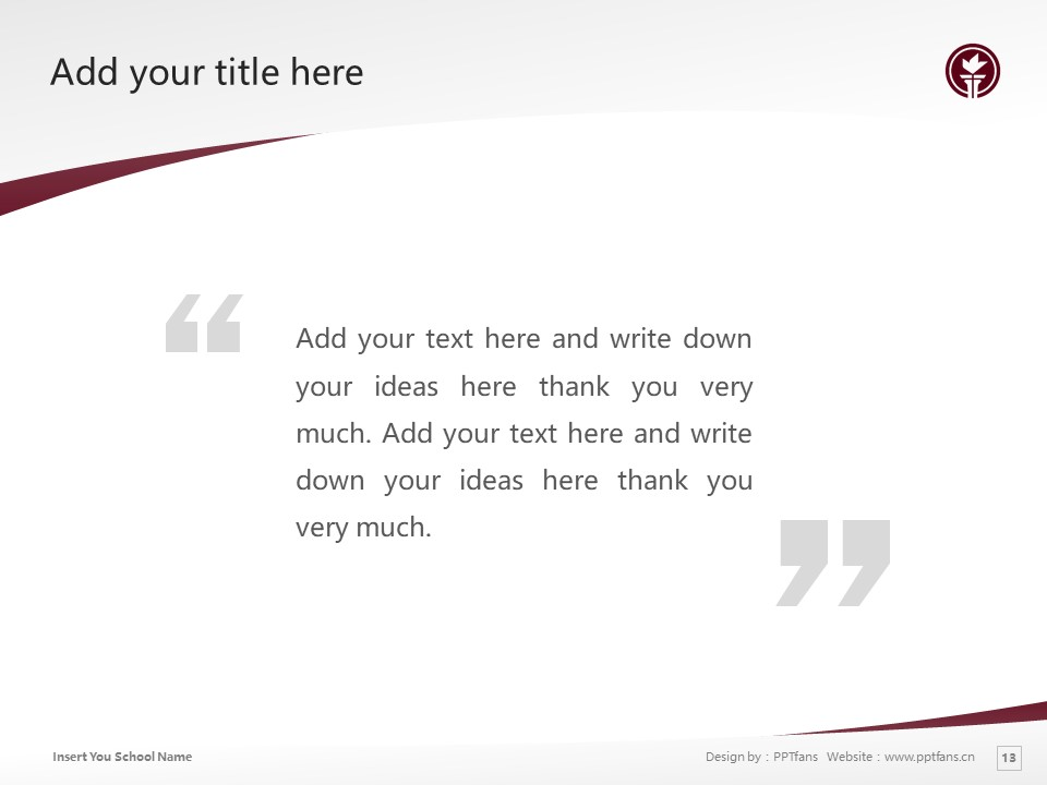 Seattle Pacific University Powerpoint Template Download | 西雅图太平洋大学PPT模板下载_slide13
