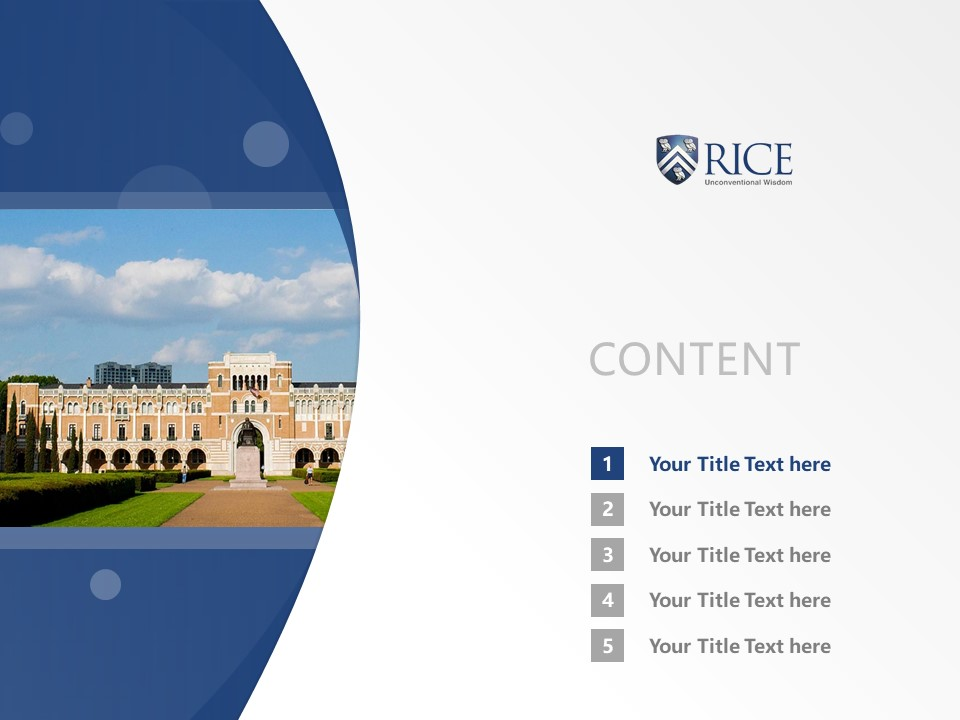 Rice university presentation template brettfranklin rice university powerpoint template download ppt presentation templates toneelgroepblik Image collections