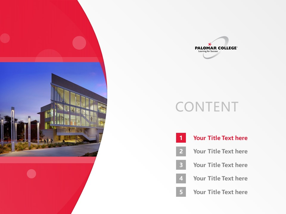 Palomar College Powerpoint Template Download | 巴洛玛学院PPT模板下载_slide2