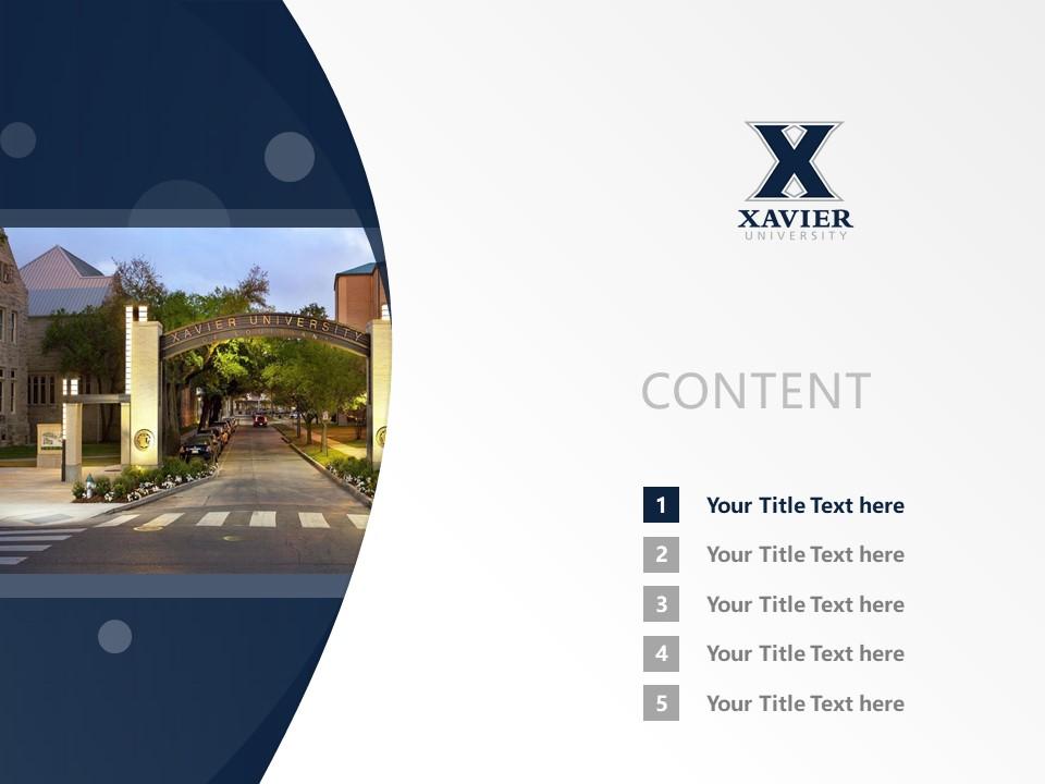 Xavier university powerpoint template download ppt xavier university powerpoint template download ppt2 toneelgroepblik Images