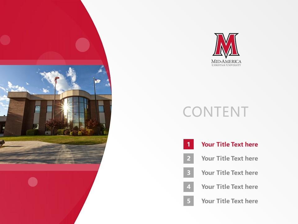 Mid-America Christian University Powerpoint Template Download | 中美基督教大学PPT模板下载_slide2