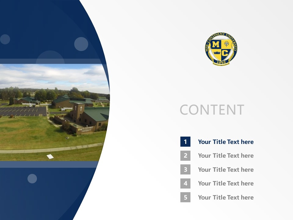 Mid-Continent College Powerpoint Template Download | 中陆学院PPT模板下载_slide2