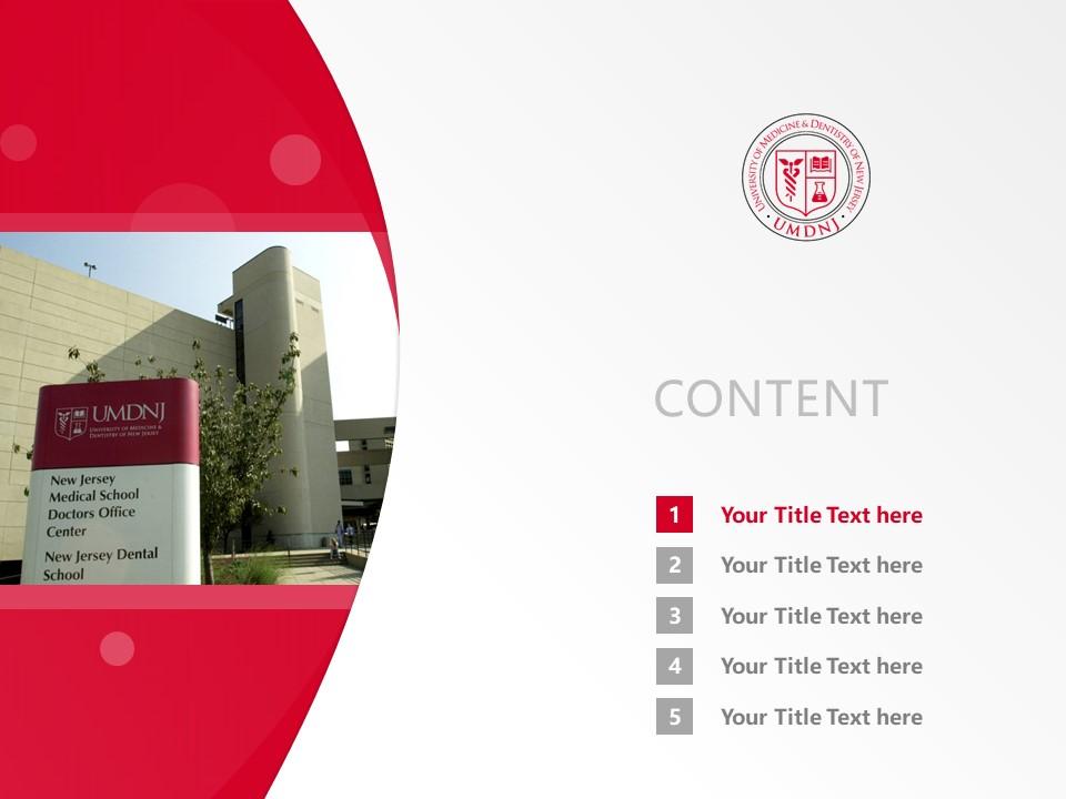 University of Medicine & Dentistry of New Jersey Powerpoint Template Download | 新泽西医科和牙科大学PPT模板下载_幻灯片2