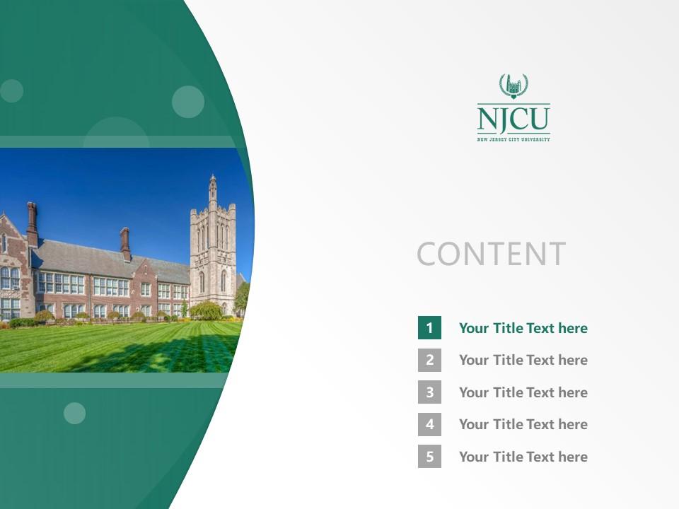 New Jersey City University Powerpoint Template Download | 新泽西城市大学PPT模板下载_slide2