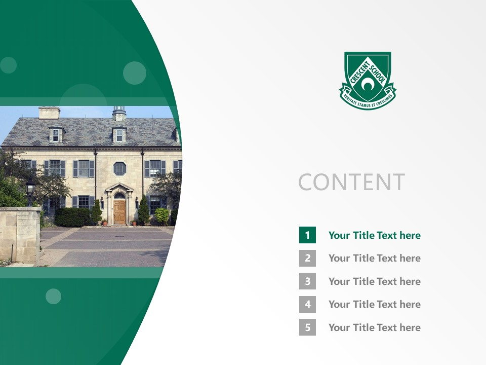 Crescent Schools Powerpoint Template Download | 新月学校PPT模板下载_slide2