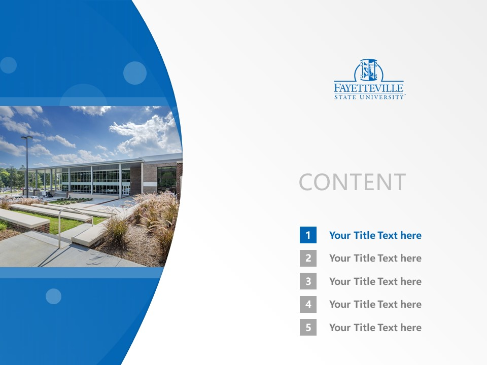Fayetteville State University Powerpoint Template Download | 费耶特维尔州立大学PPT模板下载_幻灯片2