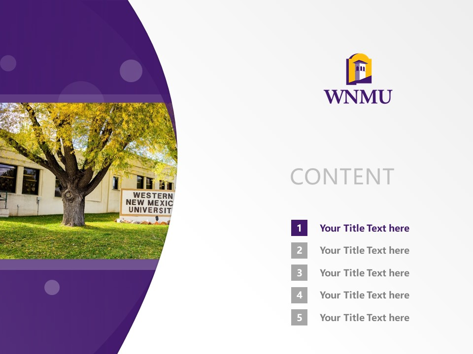 Western New Mexico University Powerpoint Template Download | 西新墨西哥大学PPT模板下载_slide2