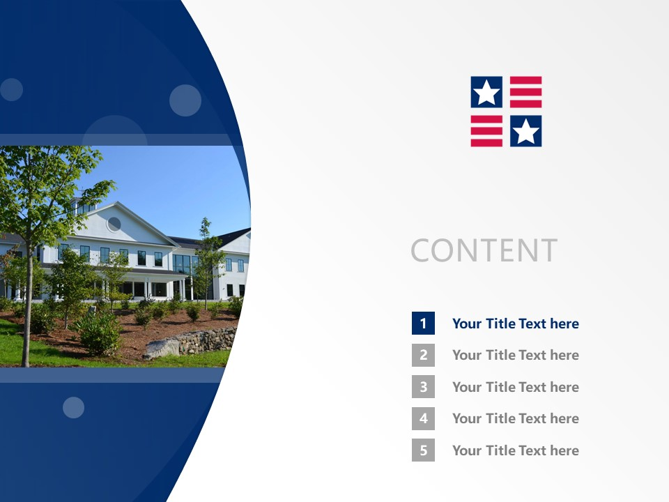 New England College Powerpoint Template Download | 新英格兰学院PPT模板下载_slide2