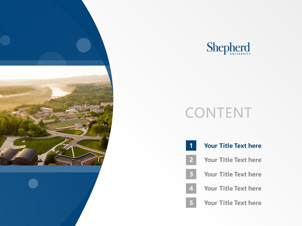 Shepherd College Powerpoint Template Download | 谢泼兹敦学院PPT模板下载_幻灯片2