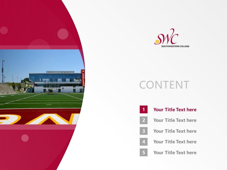 Southwestern College Powerpoint Template Download | 西南学院PPT模板下载_slide2