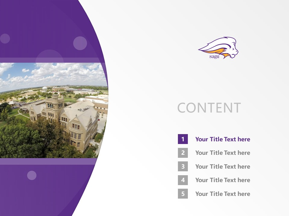Southwestern Assemblies of God University Powerpoint Template Download | 西南上帝会大学PPT模板下载_幻灯片2