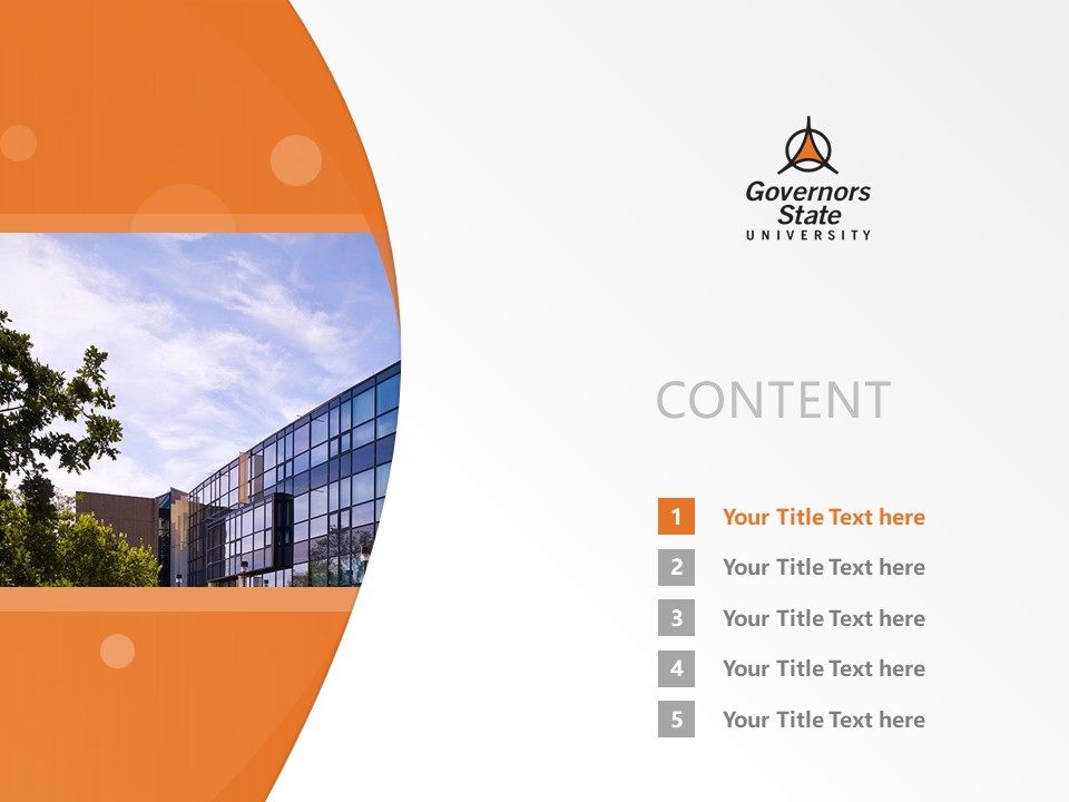 Governors State University Powerpoint Template Download | 州长州立大学PPT模板下载_slide2