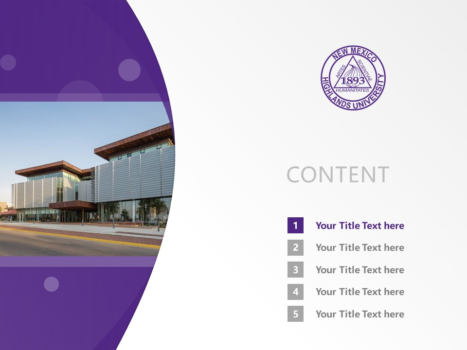 New Mexico Highlands University Powerpoint Template Download | 新墨西哥高地大学PPT模板下载_slide2