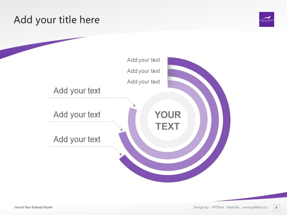 Grand Canyon University Powerpoint Template Download | 大峡谷大学PPT模板下载_slide5