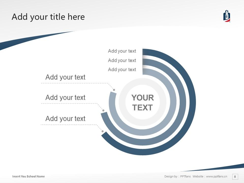 Columbus State University Powerpoint Template Download | 哥伦布州立大学PPT模板下载_幻灯片5