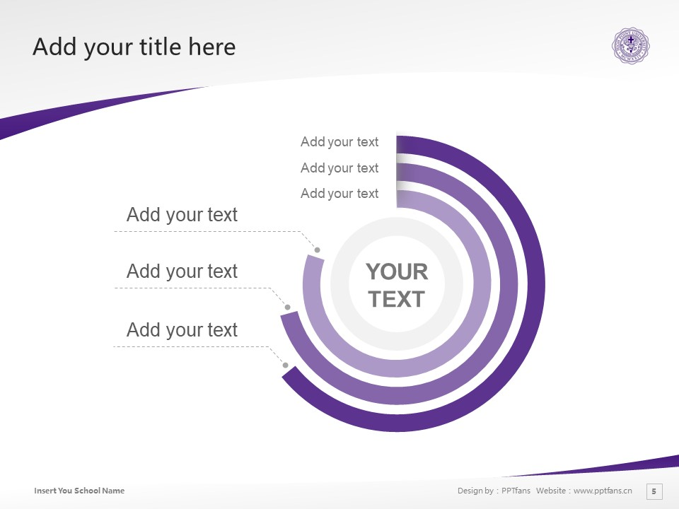 High Point University Powerpoint Template Download | 高点大学PPT模板下载_slide5